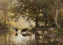 Afbeelding Schilderij van Julius van de Sande Bakhuysen