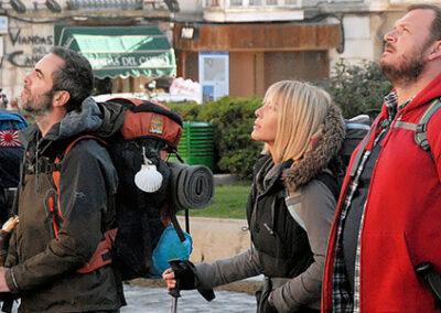 Afbeelding scene uit de film the Way
