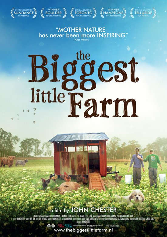 Afbeelding filmposter the biggest little farm