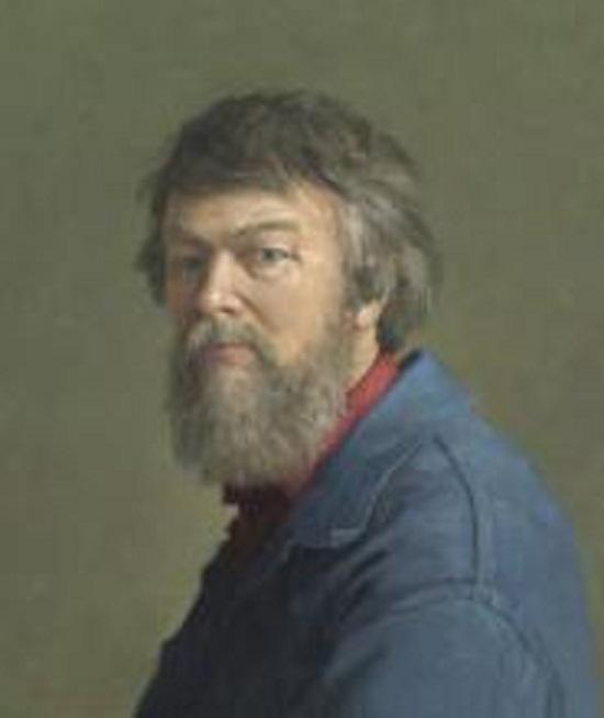 Afbeelding Henk Helmantel zelfportret