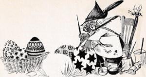 Afbeelding plokkie schildert paaseieren