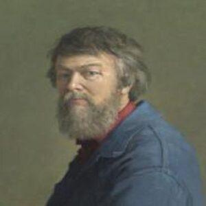 Afbeelding Henk Hellmantel zelfportret