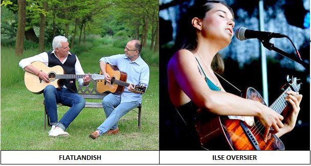 Concert – Ilse Oversier en Flatlandish