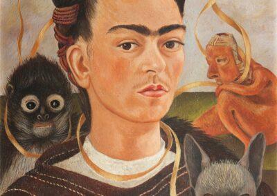 Afbeelding Schilderij van Frida Kahlo