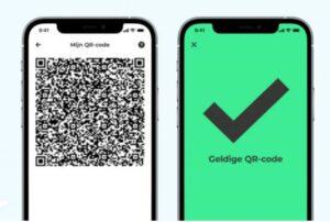 Afbeelding qr code en coronacheckapp